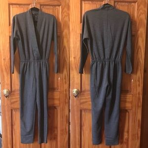 Club Monaco Jumpsuit w/ Pockets! Charcoal Grey
